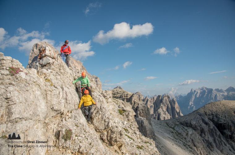 Alpin Klettern Dolomiten Dolomiti Dolomites - Alpinschule Drei Zinnen 2020 (9)