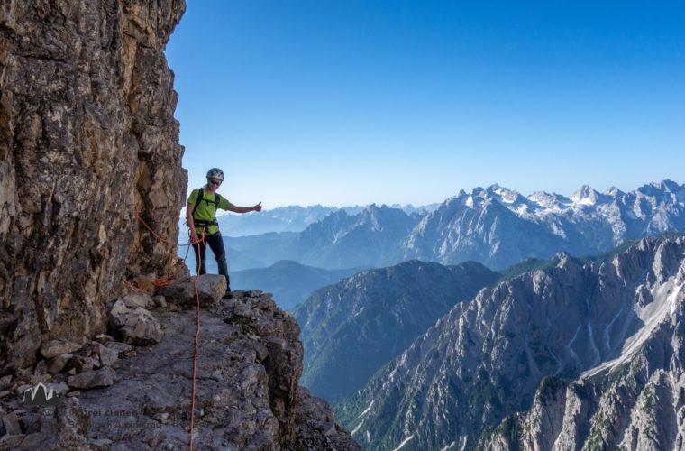 Kleine Zinne Normalweg - Cima Piccola via normale - Alpinschule Drei Zinnen 2020 (1)