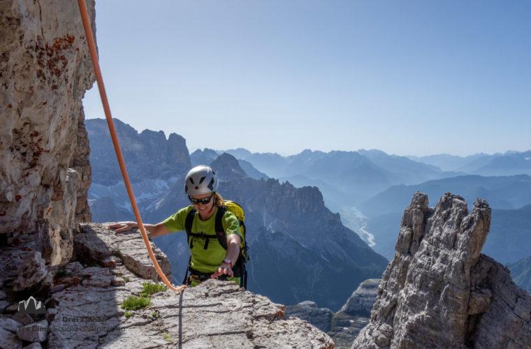 Kleine Zinne Normalweg - Cima Piccola via normale - Alpinschule Drei Zinnen 2020 (3)