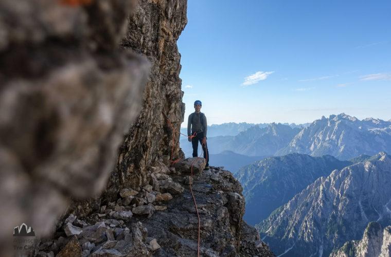 Kleine Zinne Normalweg - Cima Piccola via normale - Alpinschule Drei Zinnen 2020 (4)