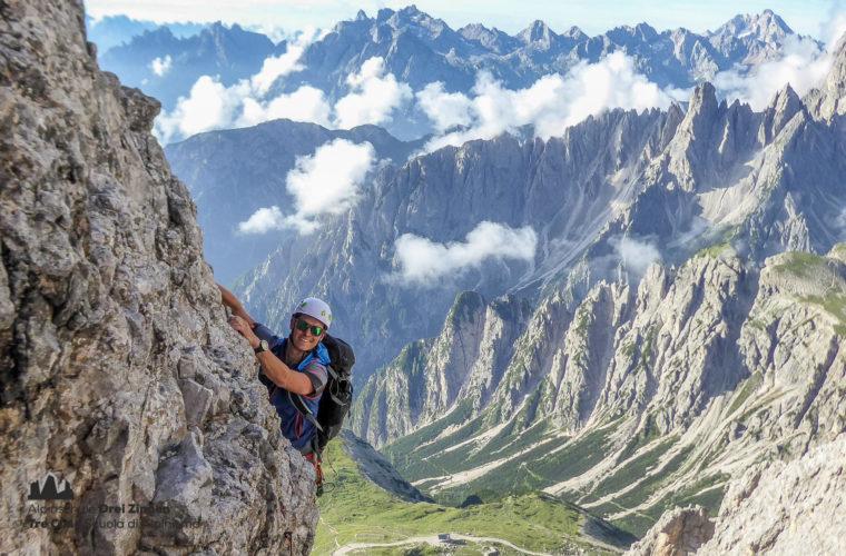 Kleine Zinne Normalweg - Cima Piccola via normale - Alpinschule Drei Zinnen 2020 (6)
