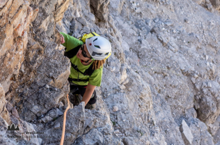 Kleine Zinne Normalweg - Cima Piccola via normale - Alpinschule Drei Zinnen 2020 (7)