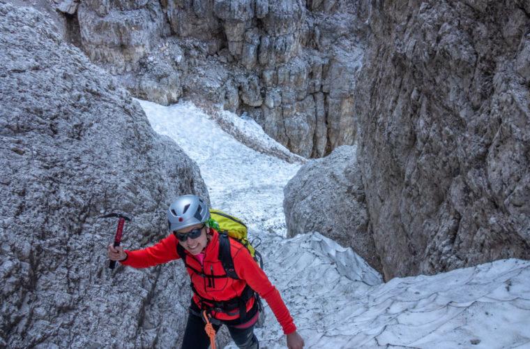Westliche Zinne Normalweg - Cima Ovest via normale - Alpinschule Drei Zinnen 2020 (1)