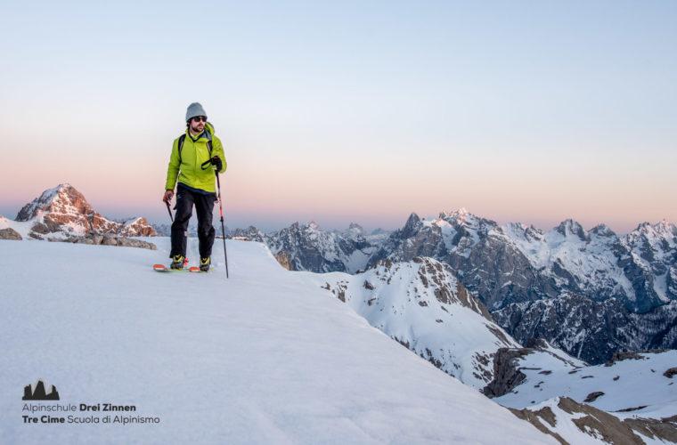 Skitour - sci d'alpinismo Dolomites 2020 - Alpinschule Drei Zinnen (1)