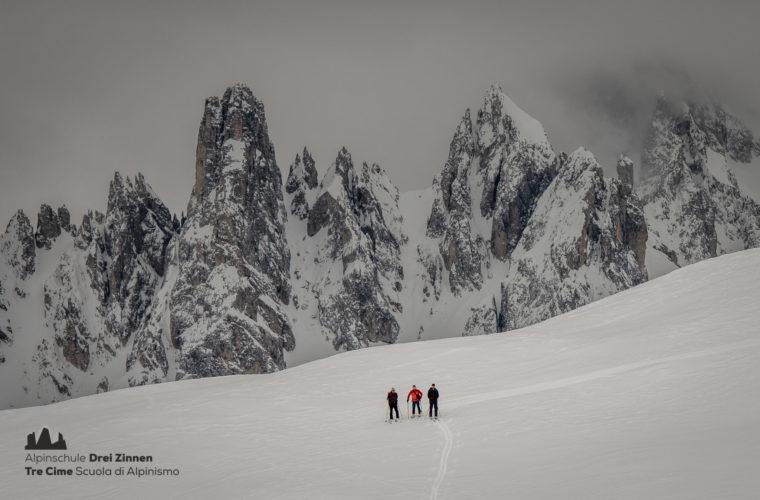 Skitour - sci d'alpinismo Dolomites 2020 - Alpinschule Drei Zinnen (3)