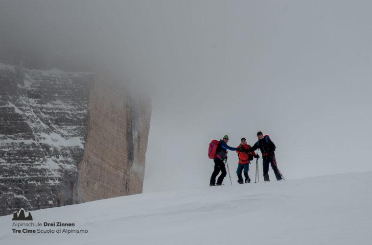 Skitour - sci d'alpinismo Dolomites 2020 - Alpinschule Drei Zinnen (4)