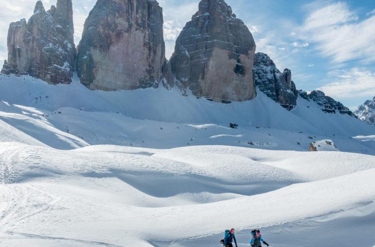 Skitour - sci d'alpinismo Dolomites 2020 - Alpinschule Drei Zinnen (5)