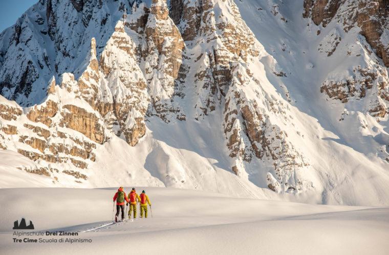Skitour - sci d'alpinismo Dolomites 2020 - Alpinschule Drei Zinnen (6)
