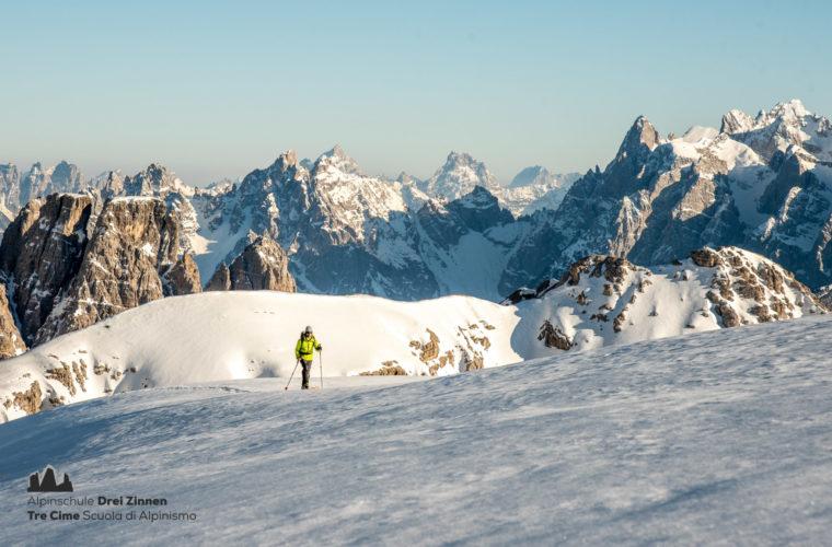 Skitour - sci d'alpinismo Dolomites 2020 - Alpinschule Drei Zinnen (7)