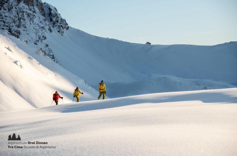 Skitour Drei Zinnen - Tre Cime 2020 - Alpinschule Drei Zinnen (2)
