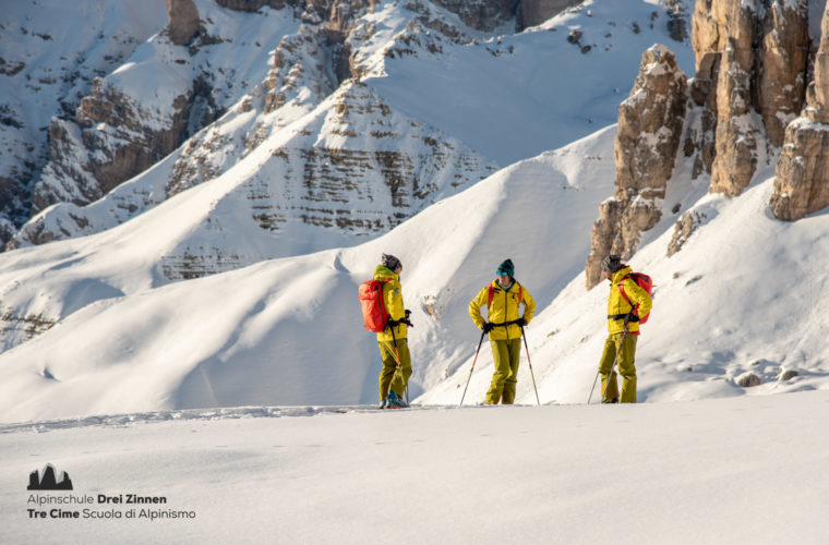 Skitour Drei Zinnen - Tre Cime 2020 - Alpinschule Drei Zinnen (5)