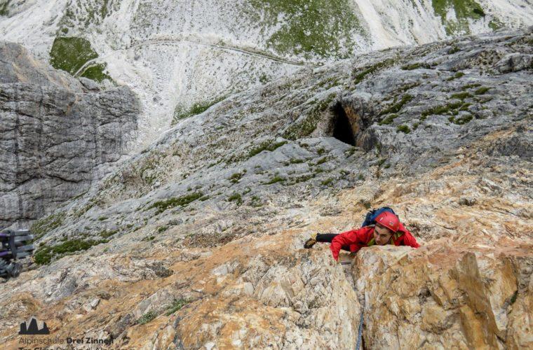 Drei Zinnen - Tre Cime di Lavaredo extrem - Alpinschule Drei Zinnen 2020 (3)