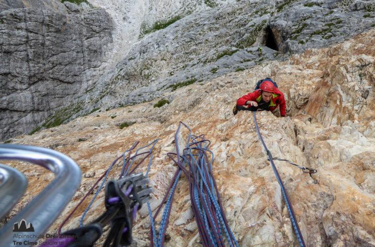 Drei Zinnen - Tre Cime di Lavaredo extrem - Alpinschule Drei Zinnen 2020 (4)