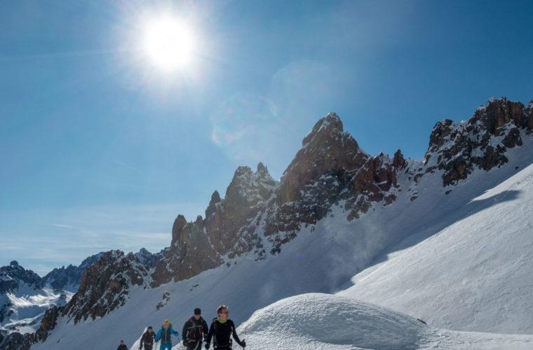 Skitour Val Maira Sci alpinismo - Alpinschule Drei Zinnen (1)