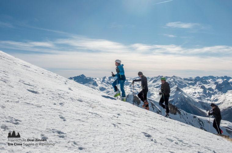 Skitour Val Maira Sci alpinismo - Alpinschule Drei Zinnen (10)