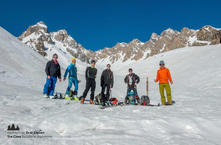 Skitour Val Maira Sci alpinismo - Alpinschule Drei Zinnen (11)