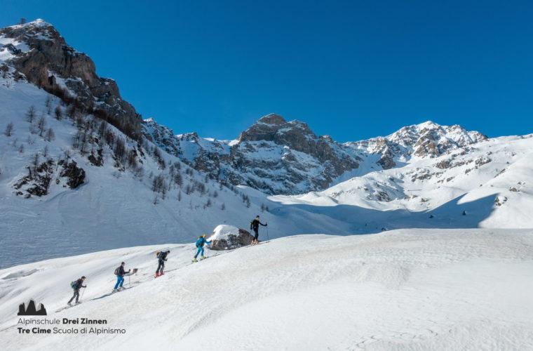 Skitour Val Maira Sci alpinismo - Alpinschule Drei Zinnen (12)