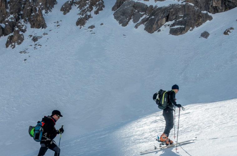 Skitour Val Maira Sci alpinismo - Alpinschule Drei Zinnen (3)