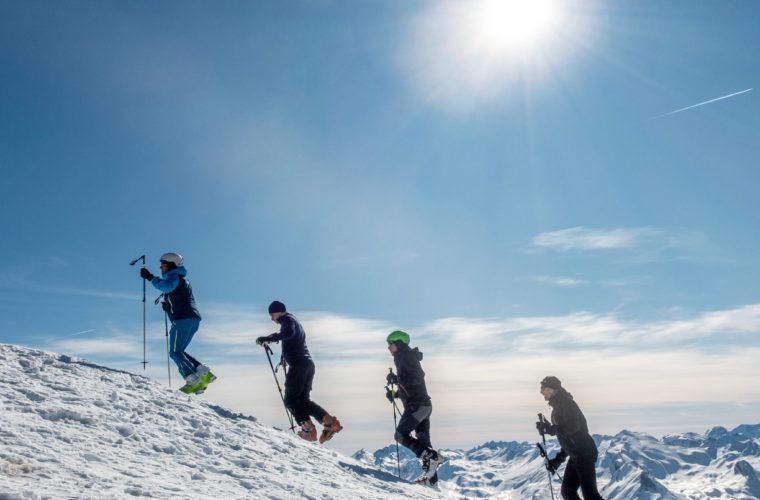 Skitour Val Maira Sci alpinismo - Alpinschule Drei Zinnen (5)