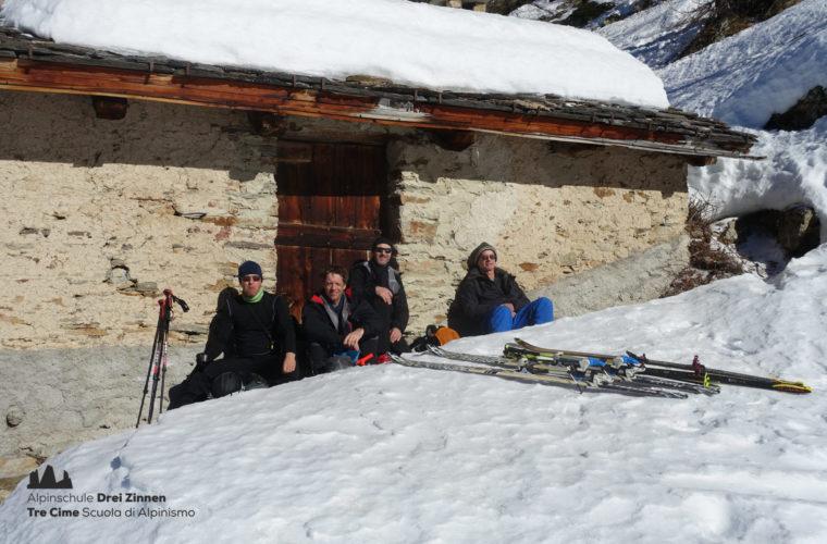 Skitour Val Maira Sci alpinismo - Alpinschule Drei Zinnen (6)