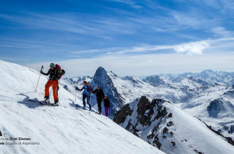 Val Maira Skitour sci alpinismo Tre Cime (3)