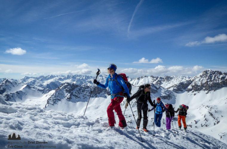 Val Maira Skitour sci alpinismo Tre Cime (4)