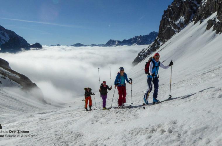 Val Maira Skitour sci alpinismo Tre Cime (5)