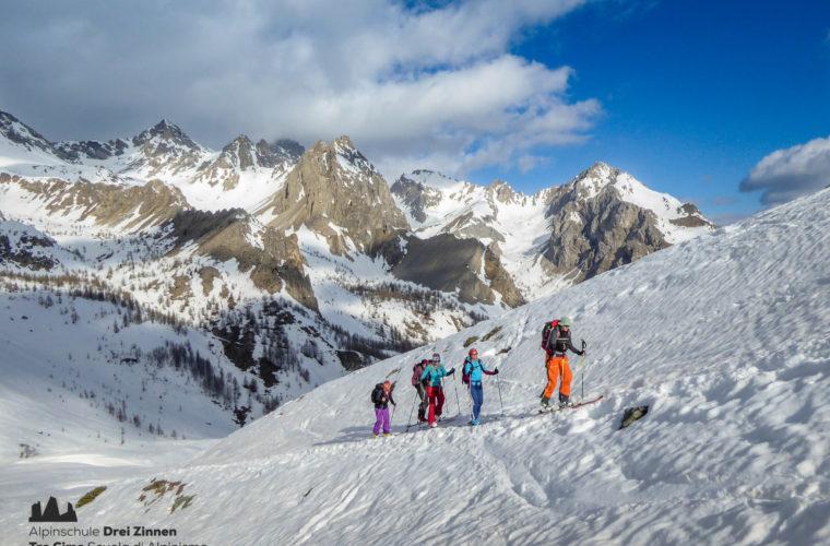 Val Maira Skitour sci alpinismo Tre Cime (6)