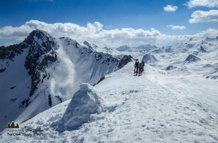 Val Maira Skitour sci alpinismo Tre Cime (7)