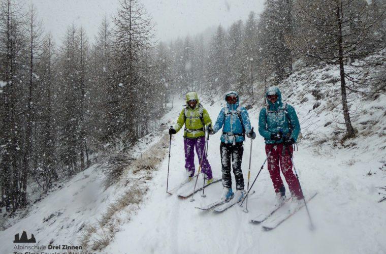 Val Maira Skitour sci alpinismo Tre Cime (9)