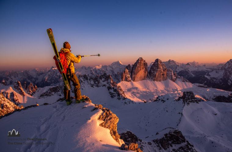 Skitour extrem 2020 - Alpinschule Drei Zinnen (1)