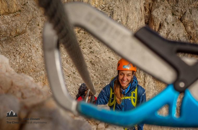 Klettersteig Rotwandspitze - Ferrata Croda Rossa - Alpinschule Drei Zinne 2020 (1)