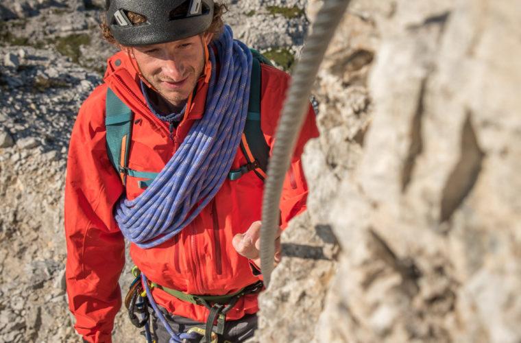 Klettersteig Rotwandspitze - Ferrata Croda Rossa - Alpinschule Drei Zinne 2020 (2)