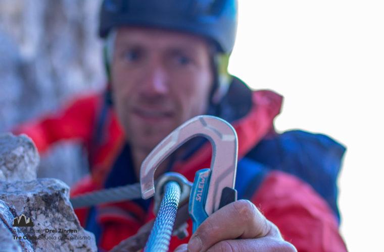 Klettersteig Rotwandspitze - Ferrata Croda Rossa - Alpinschule Drei Zinne 2020 (3)