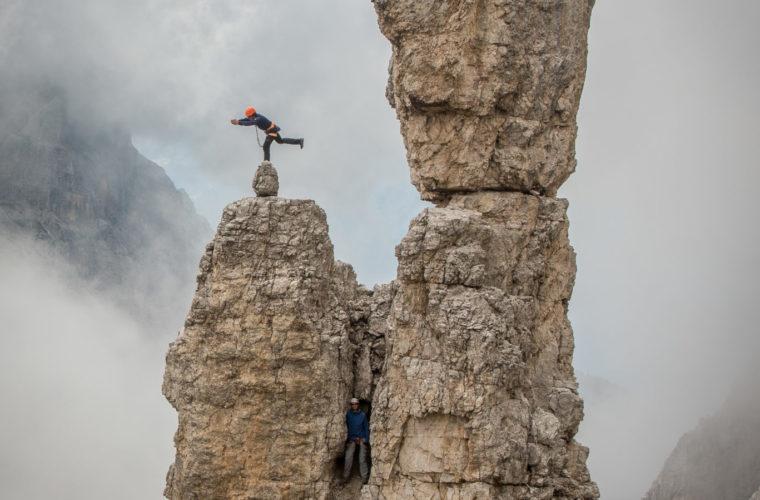 Klettersteig Zwölfer - Ferrata Croda dei Toni - Severino Casara - Alpinschule Drei Zinnen 2020 (3)