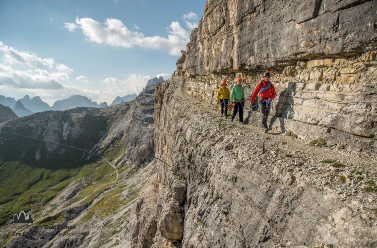 Klettersteig Zwölfer - Ferrata Croda dei Toni - Severino Casara - Alpinschule Drei Zinnen 2020 (4)