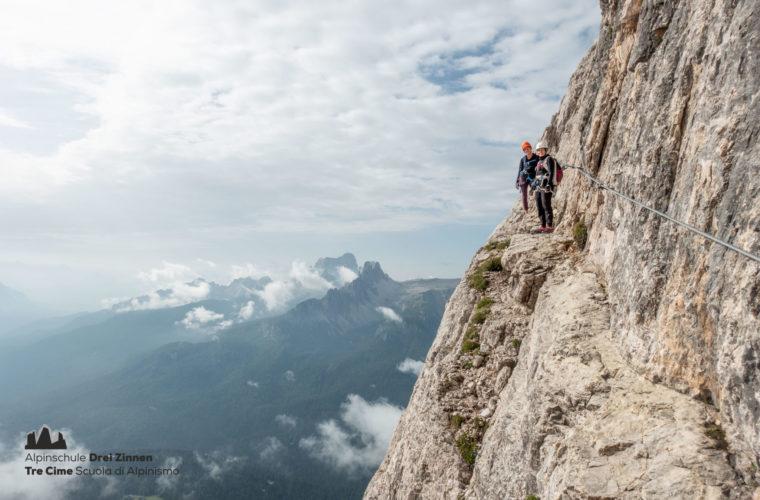 Via ferrata Punta Anna Klettersteig - Alpinschule Drei Zinnen 2020 (1)