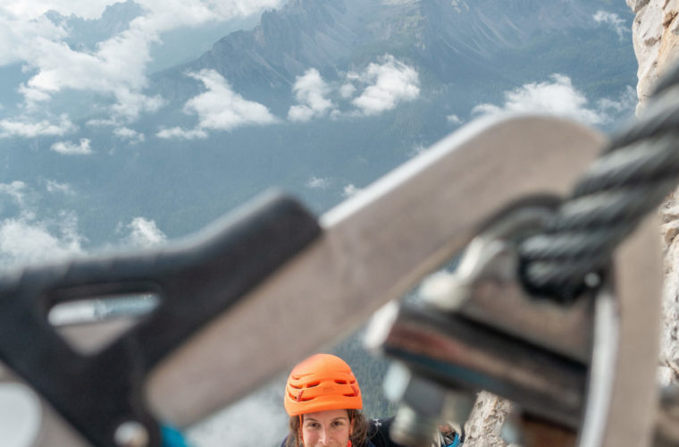 Via ferrata Punta Anna Klettersteig - Alpinschule Drei Zinnen 2020 (2)