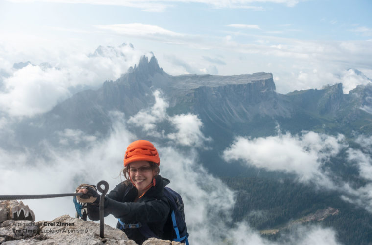 Via ferrata Punta Anna Klettersteig - Alpinschule Drei Zinnen 2020 (3)