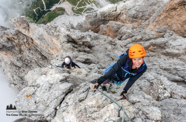 Via ferrata Punta Anna Klettersteig - Alpinschule Drei Zinnen 2020 (6)