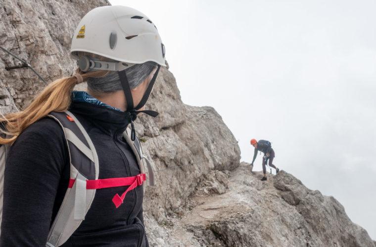 Via ferrata Punta Anna Klettersteig - Alpinschule Drei Zinnen 2020 (7)