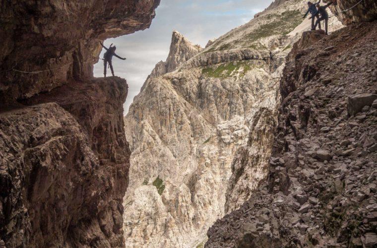 Alpinisteig - strada degli Alpini