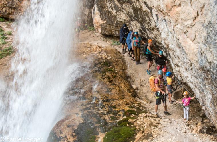 Klettersteig Fanesschlucht - Via Ferrata Gola di Fanes (11)