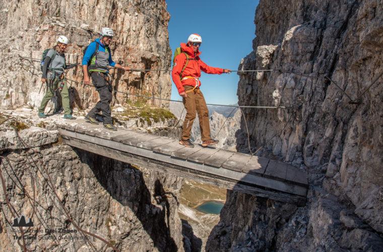 Klettersteig Paternkofel - via ferrata Monte Paterno (2)