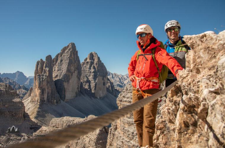Klettersteig Paternkofel - via ferrata Monte Paterno (5)