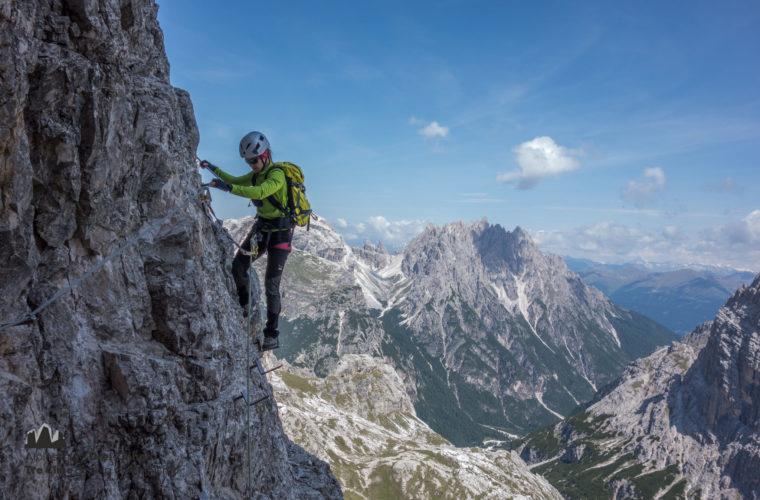 Klettersteig Toblinger Knoten - via ferrata Strada degli Alpini (1)