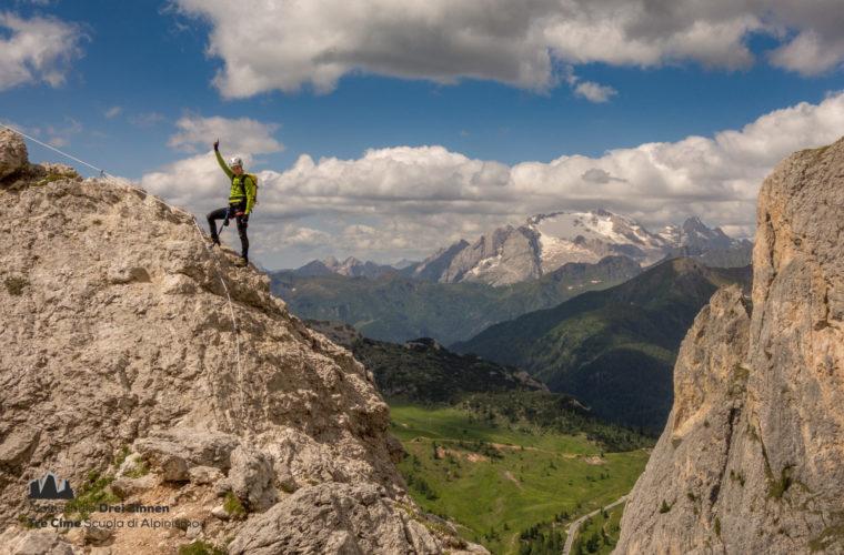 Via ferrata Col dei Bos Klettersteig (1)