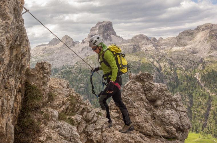 Via ferrata Col dei Bos Klettersteig (3)