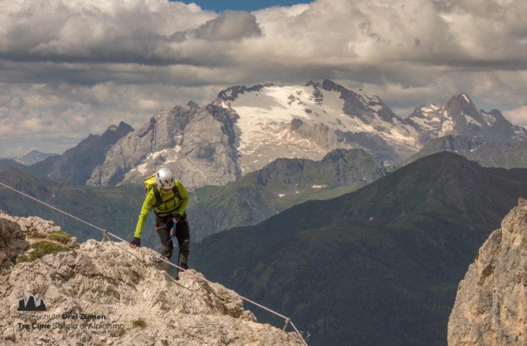 Via ferrata Col dei Bos Klettersteig (5)