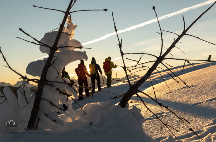 Schneeschuh Touren - ciaspolate 2020 - Alpinschule Drei Zinnen (21)